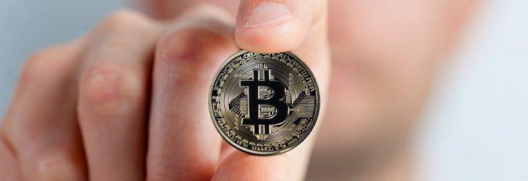 bitcoin hand handel