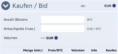 kaufen bitcoin.de btc