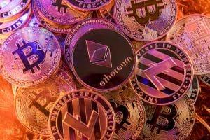 ethereum bitcoin krypto muenzen