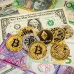 krypotwaehrung fiatgeld dollar bitcoin